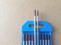 Wholesale 10 quot quot quot Brown WZr3 Zirconiated Tungsten TIG Electrodes