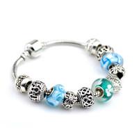 Wholesale Bracelets for Women Sterling Silver charm Bracelets Bangles for women European Beads Bracelet New Style