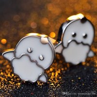 Wholesale 925 Sterling Silver Earrings New cartoon cute little sheep year of fate Zodiac sheep Stud Earrings Sterling silver jewelry