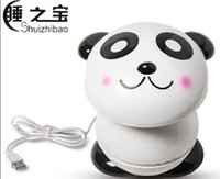 Wholesale PANDA Mini USB Mosquito Killer Lamp LED Night Light Insect Photocatalyst Flycatcher Fly Pest Killing Safe And Clean for infant and old man