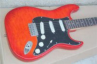 big red news - ALL NEWS electric guitar pattern transparent after the big red pickup track piano and small fixed bridge strung signature model