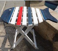 Wholesale Mediterranean Sea Fish Folding Table CM