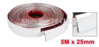 auto door trim molding - 5 M Auto Car Door Edge Guard Trim Molding Protector Strip Silver Tone M x mm Discount