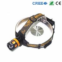 Wholesale Light headlight led long range patrol T6 waterproof hunting CREE watt lamp headlight lamp field trip