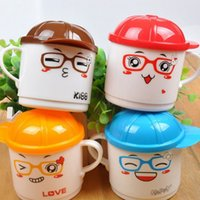 baby bottle cartoon - Infant Baby Milk Water Bottles Cup with Handle Cute Cartoon Animal Learing Mug Kids Baby Feeding Accessories