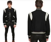 baseball letterman jackets - Fall Fashion High Quality Star Looks Fashion Mens Letterman Jackets For Men Hip Hop Hoodies Baseball Varsity Jacket