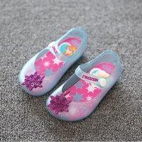 Wholesale 2016 New Mini Melissa Kids Sandals Baby Girls Boys Children Summer Cute Minnie Mickey Rubber Beach Shoes Infantil Sandalia