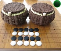 backgammon chess set - Yunnan yunziweiqi Backgammon Bamboo cm thick Reticle Dual Chessboard Chinese chess weiqi Set