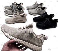 Wholesale YEEZIS size YEEZI BOOST All White SHOES Pirate Black Oxford Tan Turtle Dove size Moonrock all stock with Box