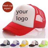 board printing - Custom printed LOGO hat child cap custom light board mesh cap truck cap advertising cap