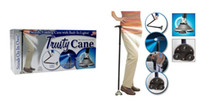 Wholesale Ultra light Magic Foldable Trusty Cane with Built in Lights Walking Cane