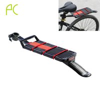 aluminum roof installation - Aluminum Alloy Bike Rack Rear Mountain MTB Bicycle Rack Quick Removal Installation Carrier Rack With Fender Tailling