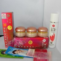 Wholesale NEW YiQi Beauty Whitening Effective In Days A B C Facial Cleanser red cover Set