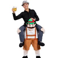 Wholesale Carry Me Animal Funny Fancy Dress Bavarian Beer Man Mascot Costume Character Fancy Dress Ride On Halloween Costumes Funny Mascot Halloween
