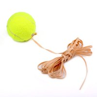 Wholesale Andux Tennis Ball Sports Tennis Training Balls Trainer Exercise Ball with Rubber Rope High quality Tennis Accessories