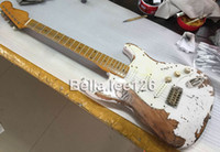 Wholesale New arrival aged color guitars ST style alder wood guitar body hot selling electric guitars