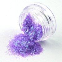 90 Pots Nail Poudre Glitter Glitter Dust Pour GEL UV Poudre Acrylique Conseils décoration poussière tuyau