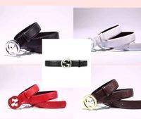 Wholesale 2016 Brand designer H belt men fashion mens GG belt belts luxury high quality genuine leather mc l brand v belt jeans belts for men
