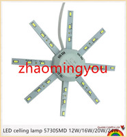 Wholesale YON LED celling lamp SMD W W W W high bright white octopus Round kitchen lamp bedroom light Energy Saving