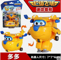 Wholesale Kids Super Wings Baby toys Children Wings toys Halloween toys Boys Girls Toys Model Toys QY