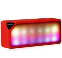 achat en gros de boîte de haut-parleur de radio-Mini Haut-parleur Bluetooth X3S TF USB FM Radio sans fil Portable musique Sound Box subwoofer haut-parleurs avec micro pour téléphone portable
