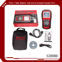 al dodge - 100 Original Autel AutoLink AL619 AL OBDII CAN ABS And SRS Scan Tool Update Online Works on ALL and newer vehicles