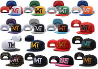 Wholesale New Fashion Women TMT Snapback Cap Sun For Men Summer Canvas Sport Visor Flat Letter Hip hop Mesh Cap Adjustable Baseball Hats