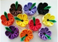 american corn - Poppy flower brooch Ms Men corn poppy corsage red poppy lapel flower pin many color can choose