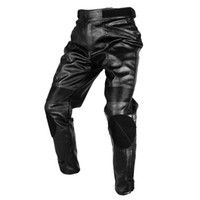 Wholesale 2017 DUHAN Motorcycle Motorcross Riding Protective Trousers Waterproof Windproof Men s PU Imitation Leather Racing Sports Pants