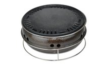 Wholesale Korea outdoor charcoal grill Commercial domestic barbecue stoves BBQ grill round baking pan frying pan cm