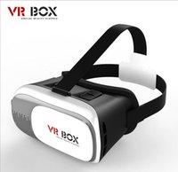Wholesale 2016 Google Cardboard VR BOX Pro1 Version Virtual Reality D Glasses Smart Bluetooth Wireless Remote Control Gamepad in D Glasses