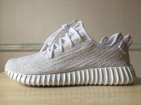 Wholesale White Boost Fashion Mens and Womens Low Sneakers Kanye West Running Shoes white camo light yellow colors