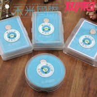 Wholesale waterproof plastic pvc poker round size bridge cards size playing cards blue color board game cards
