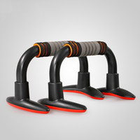 Wholesale High quality rubber thicken foam I shaped push up rack for men and women small fitness equipment health care body sculpting