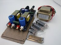 Wholesale NEW Vacuum Tube Headphone Amplifier J1 P1 former front stage bile Diy machine Advanced Edition finished
