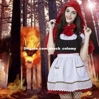 annie costumes - DHL free League LOL maid Annie Little Red Riding Hood halloween party costumes cosplay anime cosplay female girl theme new