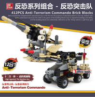 Wholesale Hot selling Anti terrorist Compatible military weapon Plastic Model Building Block Sets DIY Toys Gift boxes set