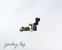 Wholesale Front Camera with Proximity Light Sensor Flex Cable For iPhone s and s Plus