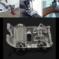 2.8cm x 1.8cm x 0.6cm Minitype Petit Low Shank Rouleau pied- de cuir Rouleau domestique Machine à coudre