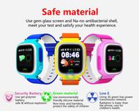 Bon Marché Enfants finder-Écran tactile Kid Safe GPS HTB2 enfant intelligent Montre bracelet SOS Appel Location Finder Locator Tracker pour Kid Enfants Moniteur Anti Perdu