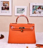 real leather designer handbags - 2016 Real leather Designer women handbags All Cow Leather Bags Durable Top End Quality
