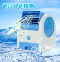 Wholesale Summer Must USB Small scale Refrigeration Aroma Mini Fan for Desk Type Air Conditioner Students Like