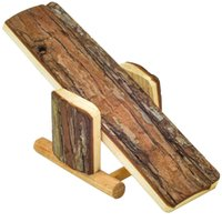 Wholesale Natural Wood Hamster Seesaw