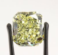 Wholesale 10 and half carat Fancy Yellow diamond certified by GIA