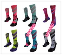basketball sox - Professional mens knee high long crew Basketball Elite Socks fashion Thicken Towel terry Outdoor Sports Athletic Sock skateboard sox For Men