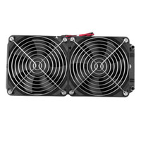 Wholesale Aluminum mm Water Cooling cooled Row Heat Exchanger Radiator Fan for CPU PC