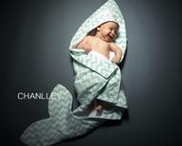 baby boy washcloths - Retail INS New Baby chevron zigzag Cotton Hoodie Bathrobe Swim Cover up One Size Towel Bath Robes bathing boys girls robe Beach cm