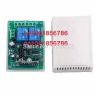 Wholesale 2015 DL V CH RF Wireless Remote Control Switch System transmitter amp receiver ch relay smart home z wave