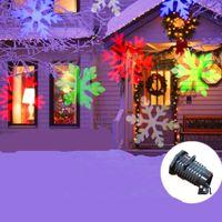 Wholesale Outdoor Patterns Laser LED Landscape Light Garden Moving Stage lgiht Christmas Projector Holiday Wedding Party Spotlight LED Laser light