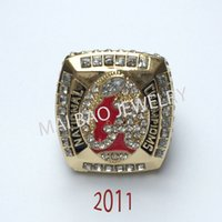 alabama championship rings for sale - Fashion Hot Sale European and American Replica Ring Alabama Crimson Tide National Championship Ring With Good Box For Man